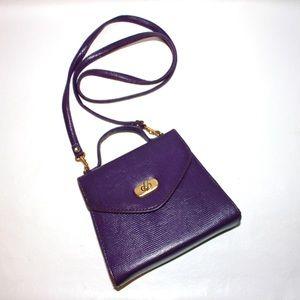 Vintage Mini Top Handle Crossbody Turn Key Bag